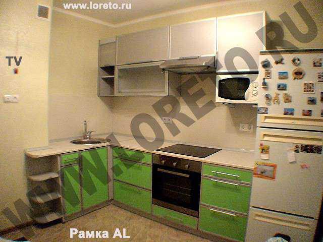 Кухня с коробом по индивидуальным размерам фото 60