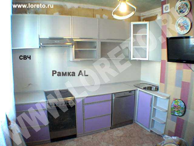Дизайн кухни с коробом в п 44 10 кв. м от производителя фото 66