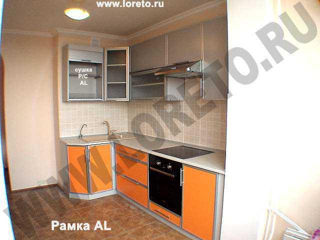 Короб в углу кухни индивидуальный дизайн фото 68