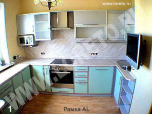 Заказ – рамочный фасад алюминий фото 9