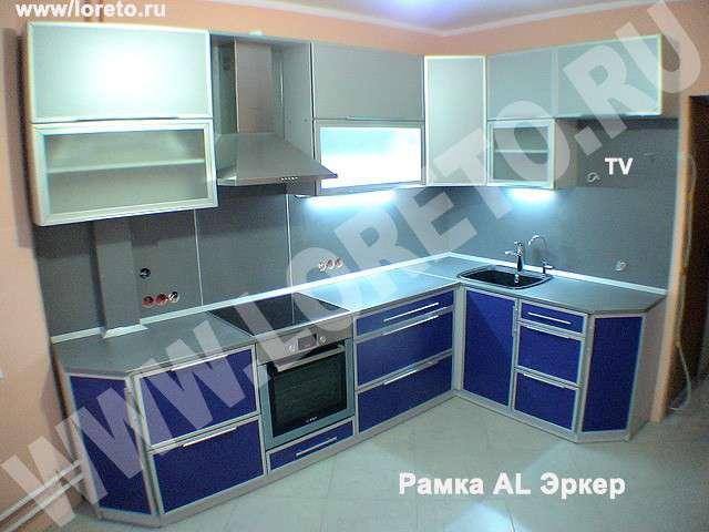 Купить кухню с эркером недорого в Москве фото 7