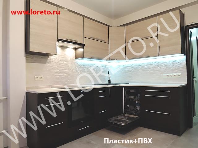 Кухня с эркером в п44т 13 кв. м на заказ фото 12