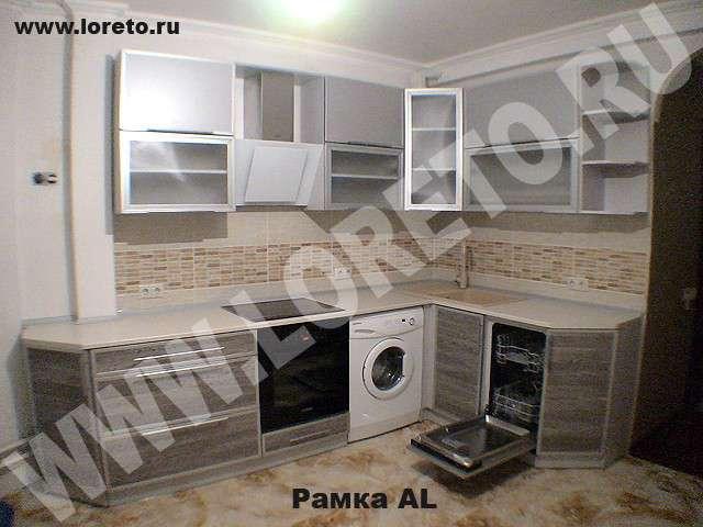 Угловая кухня п 44т с эркером дизайн фото 3