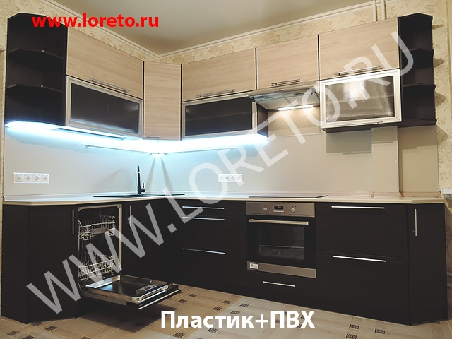 Дизайн кухни 13 кв. метров с эркером в доме серии п44т фото 13