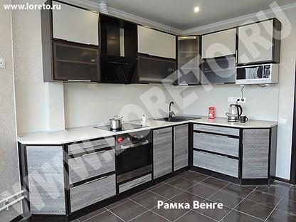 Кухонный гарнитур 13 метров для эркера п44т фото 8