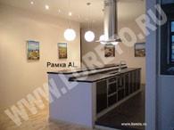 Барная стойка для кухни в офисе на заказ фото 14