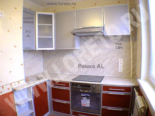 Дизайн кухонь с коробом