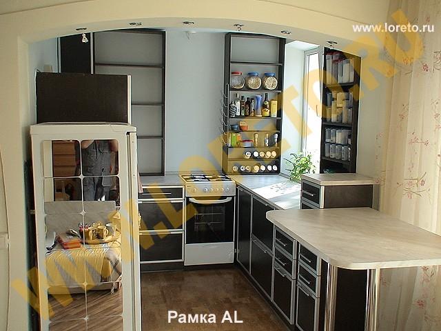 Современный дизайн маленькой кухни фото 39