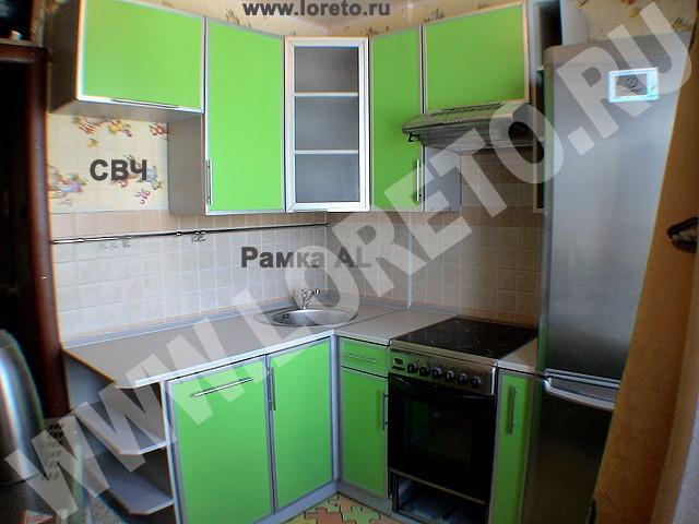 Установка кухни в маленьких хрущевках киев фотогалерея салатовая