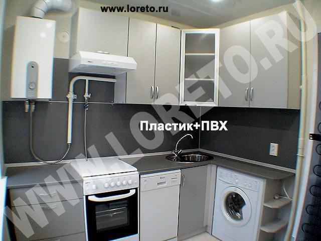 кухни маленькие с колонкой фото