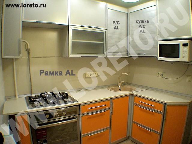 Угловая маленькая кухня в хрущевке 6 кв. м: дизайн и идеи фото 33