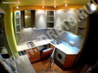 Маленькой малогабаритной кухни фото 12