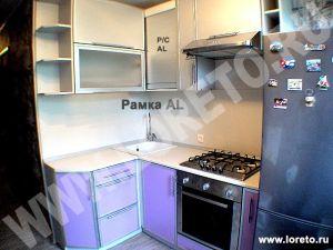 Маленькая угловая хрущевка 5 кв. м с холодильником фото 71
