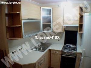 Малогабаритная кухонная мебель с холодильником фото 74