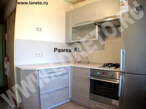 Малогабаритный кухонный гарнитур с холодильником фото 75