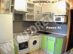 Холодильник и стиральная машина в малогабаритной кухне фото 73