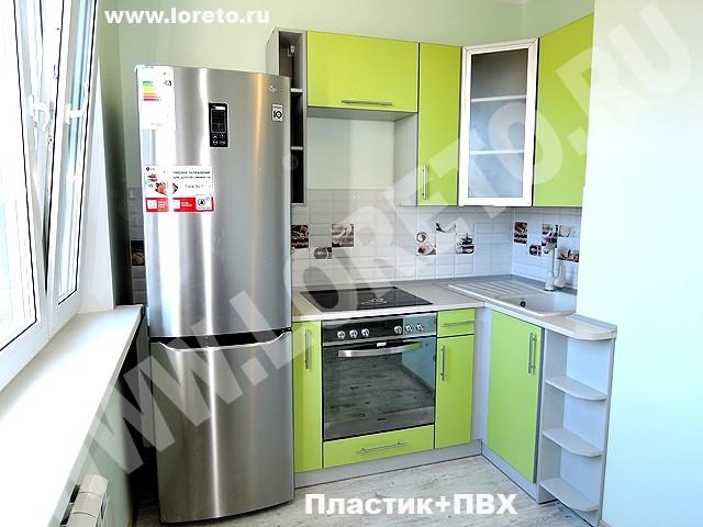 Дизайн маленькой кухни 8 кв. м с вентиляционным коробом фото 76