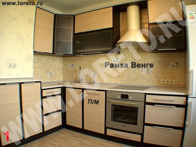 Кухня с коробом по индивидуальному заказу фото 52