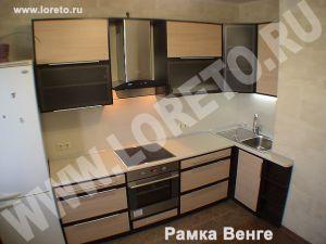 Кухня на заказ с коробом вентиляции от производителя Москва фото 23