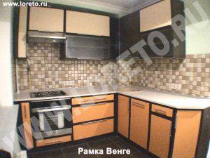 Мебель для кухни с коробом в углу от производителя в Москве фото 34