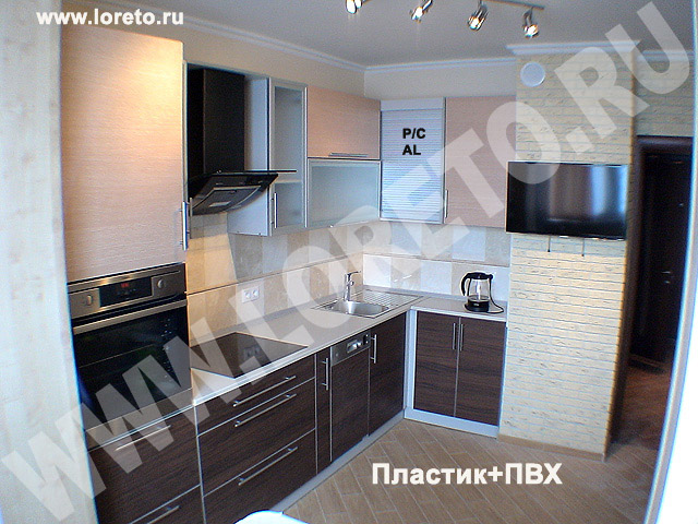 кухня с вентиляционным коробом дизайн фото